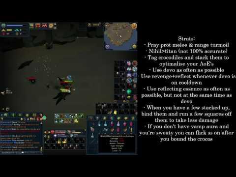 RuneScape |  Crocodile Akh Slayer Task