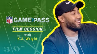 K.J. Wright Breaks Down Reading Keys, Staying Off Blocks, & More | NFL Film Session