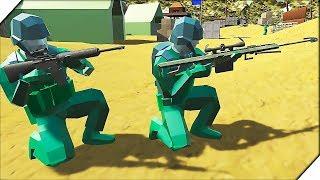 ПРЕВОСХОДСТВО ЗЕЛЕНЫХ - Игра Ravenfield для мальчиков Битва солдатиков в РЕВЕНФИЛД