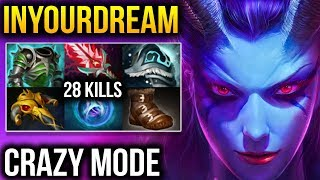 Inyourdream [Queen of Pain] Totally Ownage Mid Lane Dota 2