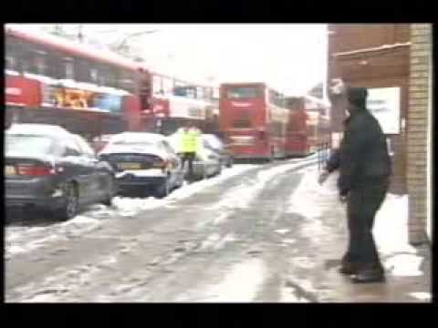 BBC News of the 2nd February 2009 on the snow chaos
