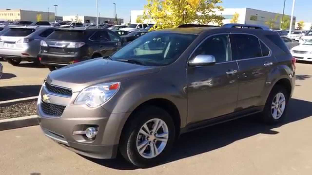 Pre Owned Brown Mocha 2010 Chevrolet Equinox Lt Fwd
