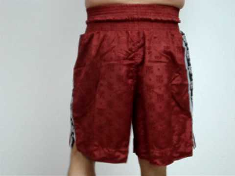 Boxing Trunks Top Ten (Red)