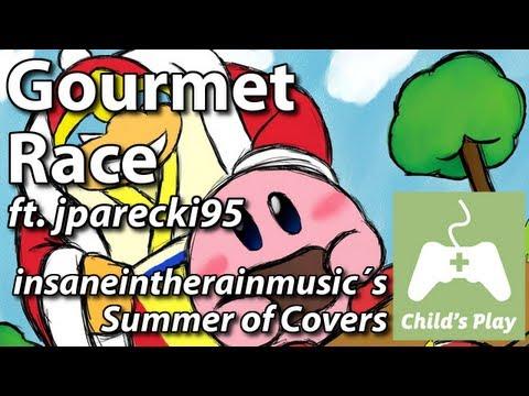 Gourmet Race Ft. Jparecki95 - Kirby Superstar   Band Cover