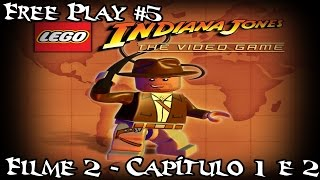 lego indiana jones free play 5 filme 2 capitulos 1 e 2 pt br