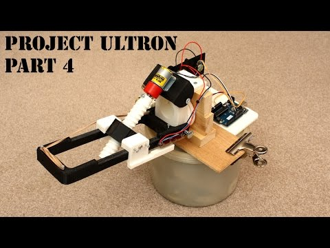 XRobots - Ultron Part 4, A REAL ROBOT - Series Elastic Actua