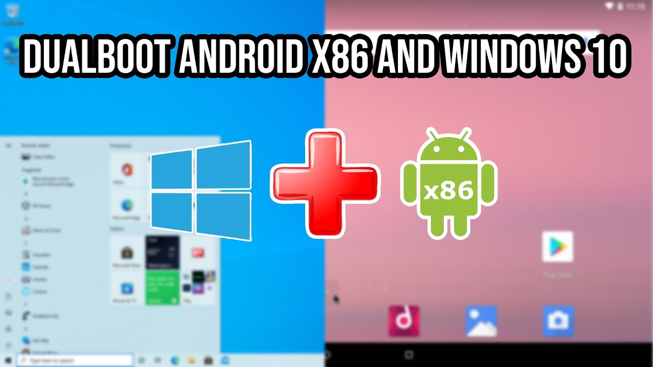 HOW TO INSTALL Android x12 and Dual Boot with Windows 12 on ANY PC