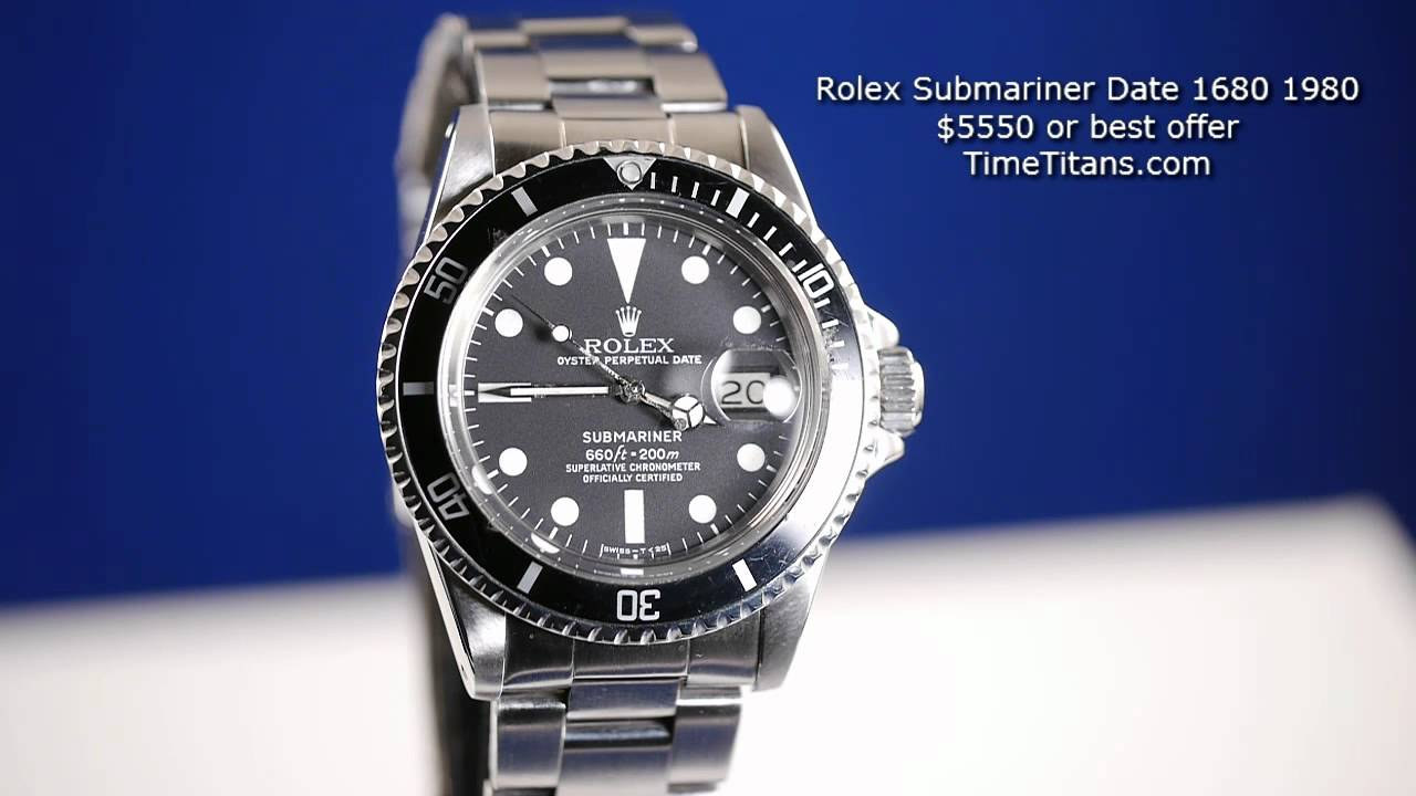 Dating a rolex by
