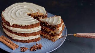 Морковный торт с карамелью Нереально вкусно