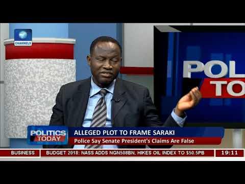 Themetrolawyer: Police Says Senate President's Claims Are False  Politics Today
