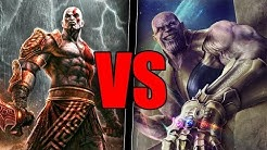 Kratos VS Thanos - Who Would Win?