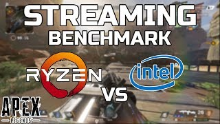 Streaming - Ryzen 3900X & 3700X VS 9900K & 2700X