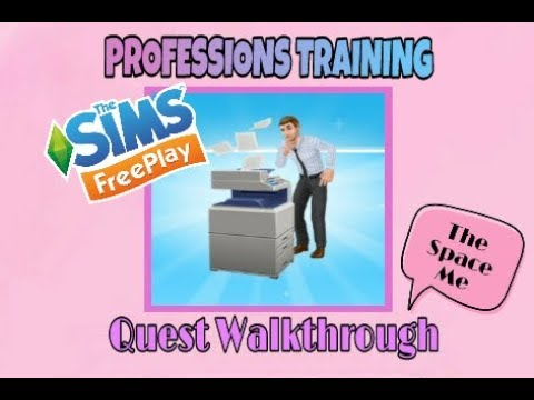 Download Sims freeplay - Profession training Quest (Movie Studio 2018)