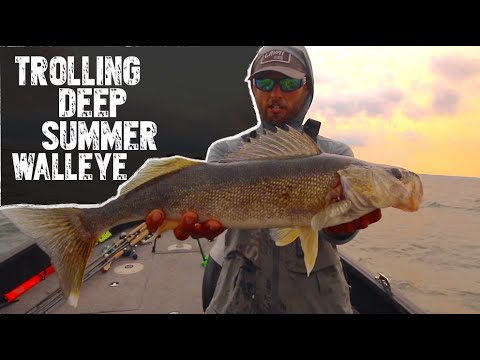 How To Catch Walleyes Trolling Right NOW!