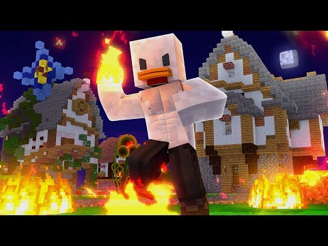 GANHEI OS SUPER PODERES DE FOGO DO AVATAR No MINECRAFT‹ Frango ›
