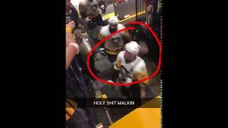 Малкин едва не ударил клюшкой болельщика «Нэшвилла»