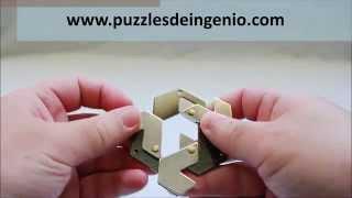 Solution Hanayama Cast Hexagon Puzzle