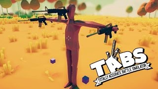 TABS First Person Gameplay & Viking Invasion! (Totally Accurate Battle Simulator Gameplay)