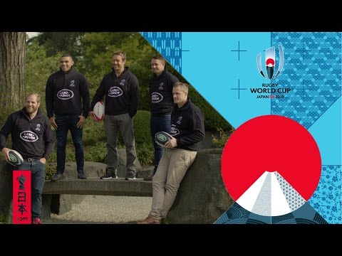 Rugby stars react to RWC 2019 pool draw