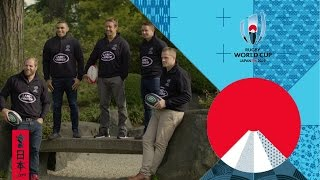 Rugby stars react to RWC 2019 pool draw thumbnail
