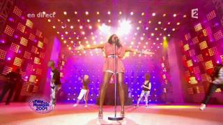 KELLY ROWLAND Feat DAVID GUETTA When Love Takes Over HD Live At Fete De La Musique 2009