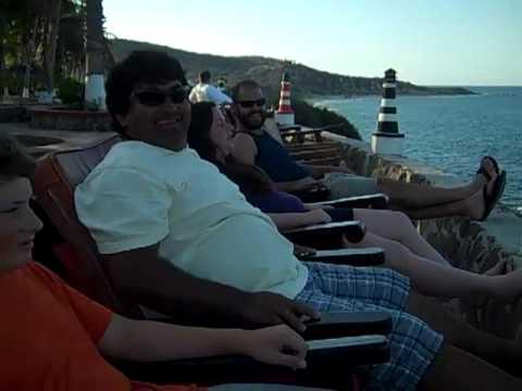 Enjoying the view at Punta Colorada-Don Pedro Classic