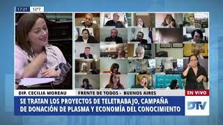 Diputada Moreau, Cecilia - Sesión Especial-25-06-2020 - MO