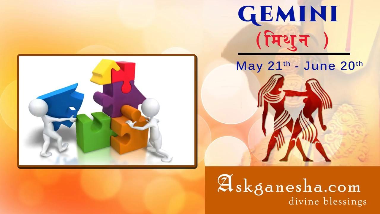 askganesha gemini horoscope