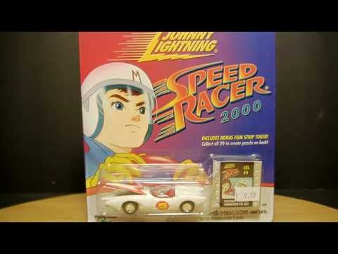 Johnny Lightning SPEED RACER Mach 5 Toy Comparison Review