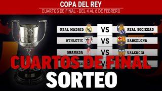 Sorteo Copa del Rey 2020 EN DIRECTO, cruces de cuartos de final de la Copa del Rey - RFEF | MARCA