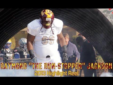"Raymond ""The Run-Stopper"" Jackson 2013 Sr. Highlight Reel Class of 2014"