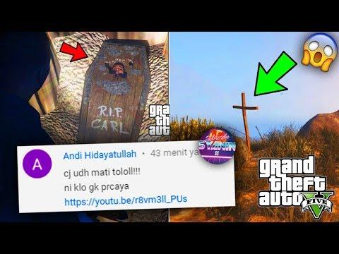 MEMBONGKAR MISTERI RAHASIA GTA 5 Kuburan CJ & Mayat CJ No Hoax - Easter Egg CJ GTA San Andreas !!!