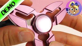 Νέα άφιξη!Ροζ μεταλλικό Fidget Spinner!