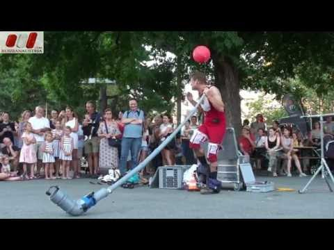 This Maag (Switzerland). Best of Buskers Festival in Vienna by Russian Austria