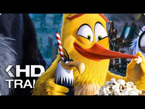 THE ANGRY BIRDS MOVIE 2 - 11 Minutes Trailers & Clips (2019)