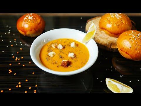 soupe-aux-lentilles-corail-healthy-💯💯👌😋-recette-super-saine-!