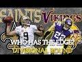 New Orleans Saints vs Minnesota Vikings - Who Has The Edge? NFL 2018 Divisional Round