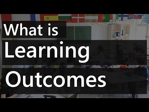 What is Learning Outcomes in a Lesson Plan | Teacher Education Terms Video || SimplyInfo.net