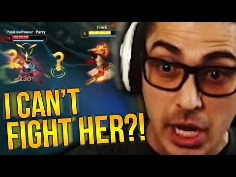 SHE REALLY SAID I CAN'T FIGHT HER 1V1?!?! - Trick2G