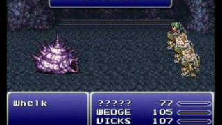 Difference between GBA And SNES - Final Fantasy 6