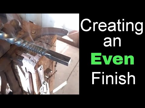 How to Create an Even Finish on Your Metal Projects