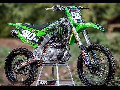 Wide open KLX140 RAW  Dirt Bike Magazine