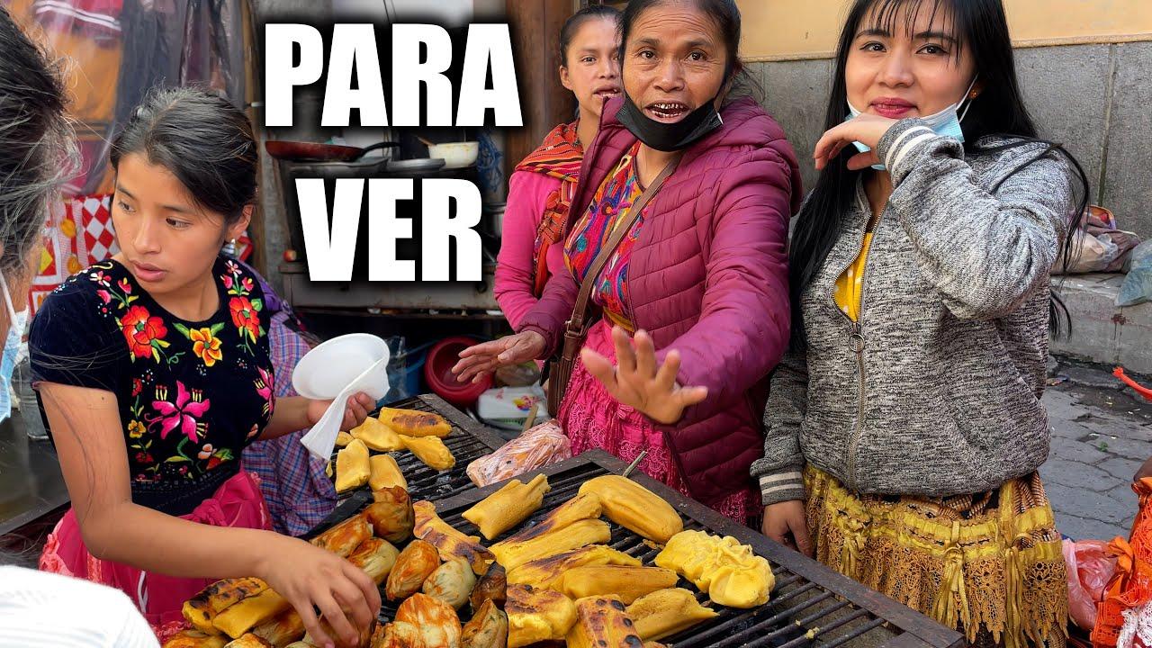 Orta Amerika'nın En Büyük Pazarı Chichicastenango 🇬🇹 ~415