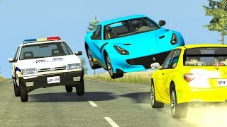 CRAZY TRAFFIC CRASHES #8 - BeamNG Drive | CRASHdriven