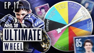 ULTIMATE WHEEL - S2E17 - NHL 18 Hockey Ultimate Team | YGTOTY EDITION