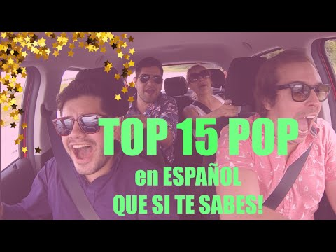 TOP 15 Canciones POP en ESPAÑOL con Gwabir, Marcela y Samuelf