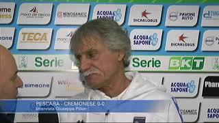 Pescara - Cremonese 0-0: Giuseppe Pillon
