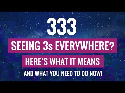 333 The Meaning of This Repeating Angel Number - 33, 3333 - YouTube