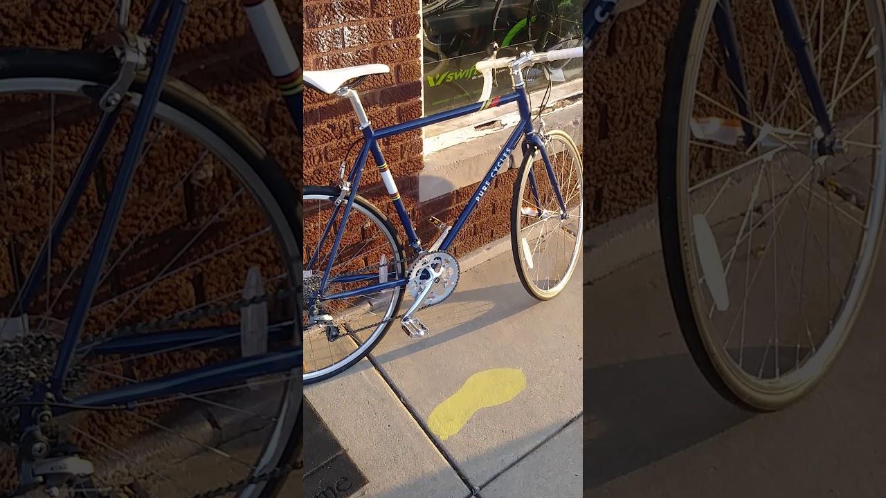 16245312b4e Pure cycles road bikes - YouTube