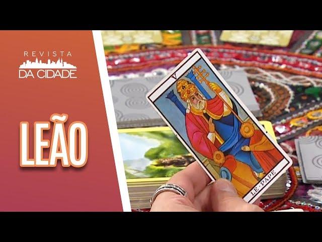 Previsão de Leão 23/07 a 22/08- Revista da Cidade  (18/02/19)